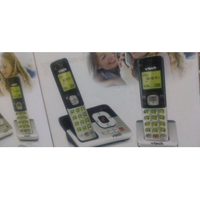 Telefono Inalambrico Doble Plateado