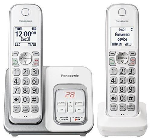 teléfono inalámbrico expansible panasonic kxtgd532w con cont