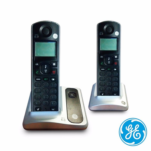teléfono inalambrico general electric dect 6.0 sin baterías