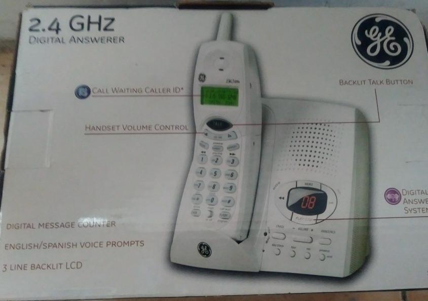 70f47836da8 Telefono Inalambrico General Electric 2.4 Ghz Nuevo - Bs. 4.550,00 ...