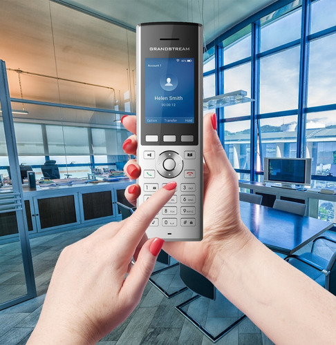 telefono inalambrico ip grandstream wp820 wifi usb audio hd