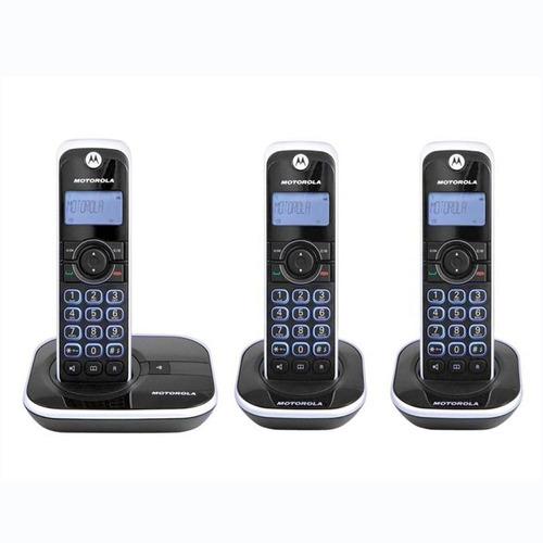 telefono inalambrico motorola gate4500-3 con identificador