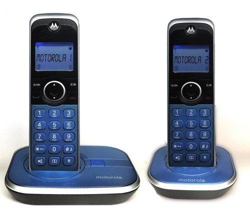 telefono inalambrico motorola gate4800a-2 altavoz full duple
