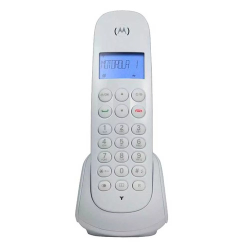telefono inalambrico motorola m700 caller id nuevo alarma