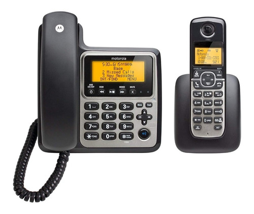 telefono inalambrico motorola m802c dect 6.0 contestadora
