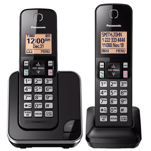 telefono inalambrico original doble panasonic kx tgc352 bagc