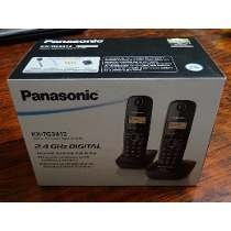telefono inalambrico panasonic +  anexo kx-tg3452 sellado