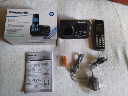 teléfono inalámbrico panasonic contestadora kx tg4131 (60)