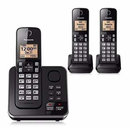 telefono inalambrico panasonic dect 6.0 plus 3 und
