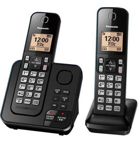 telefono inalambrico panasonic doble base con captor