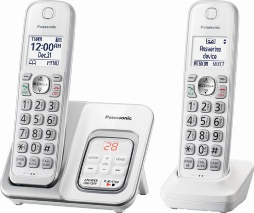telefono inalambrico panasonic doble contestador kx-tgd532w