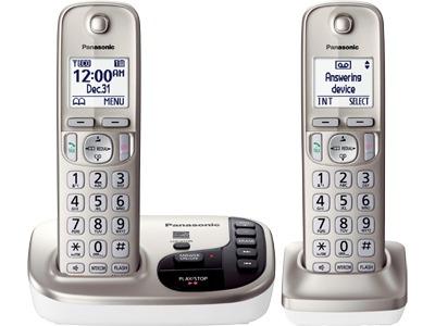 telefono inalambrico panasonic doble dect 6.0 tgd222