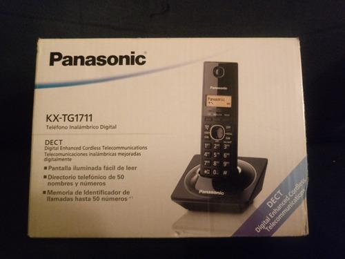 telefono inalambrico panasonic kx-tg1711 negro