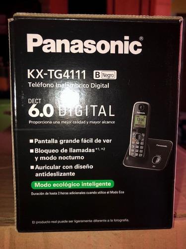 teléfono inalámbrico panasonic kx-tg4111