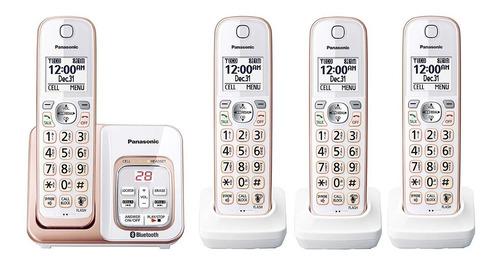 telefono inalambrico panasonic kx-tg564g2 4 auriculares