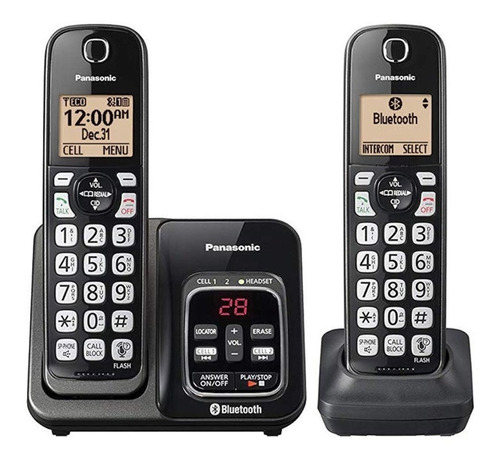 telefono inalambrico panasonic kx-tg832sk bluetooth