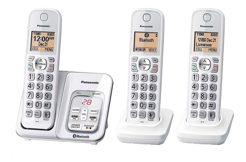 teléfono inalámbrico panasonic kx-tg833sk bluetooth