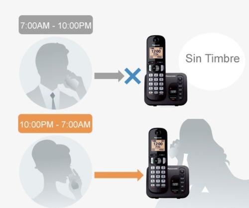 telefono inalambrico panasonic kx-tgc220 contestador captor