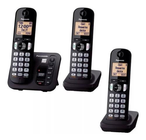 telefono inalambrico panasonic kx-tgc223c nuevo