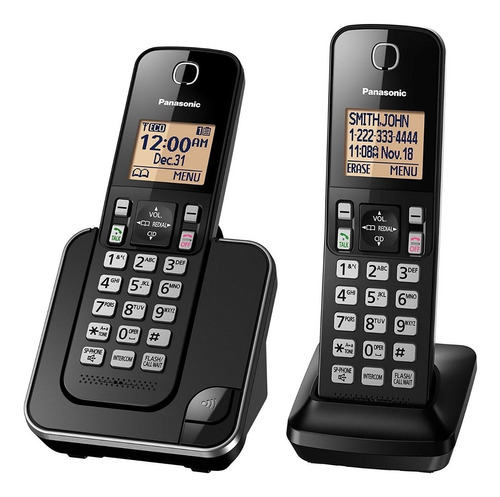 telefono inalambrico panasonic kx-tgc382c intercom