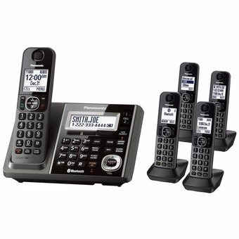 telefono inalambrico panasonic modelo kx-tg 585 6.0 plus