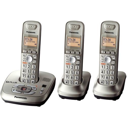 telefono inalambrico panasonic trio 4223 contestador dect 6