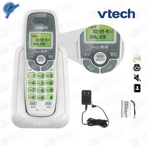 telefono inalambrico para casa blanco 6114 con identificador