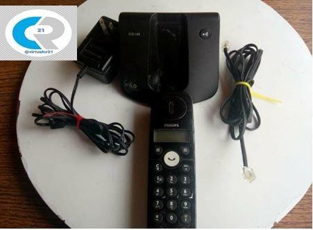 telefono inalambrico philips cd140 remateee 14 lechugas