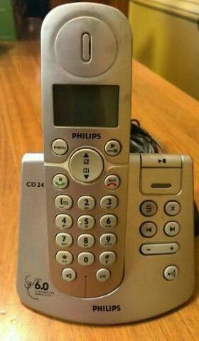 teléfono inalámbrico philips cd245 (30 norteños)