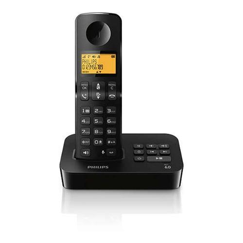 telefono inalambrico philips d2151b/77 c/ contestador caller
