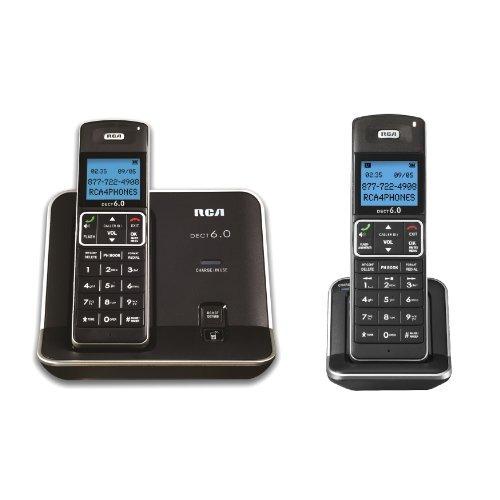 teléfono inalámbrico rca 2111-2bsga 2 paso dect
