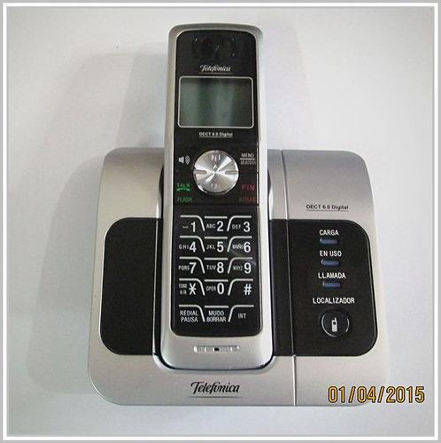 telefono inalambrico telefonica 6.0 usado con garantia