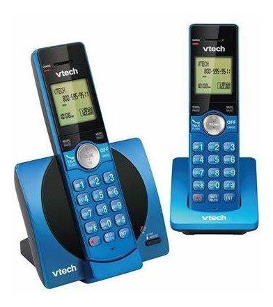 teléfono inalámbrico vtech cs 6919-25 azul