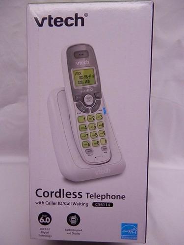 teléfono inalámbrico vtech cs6114 identificador dect 6.0