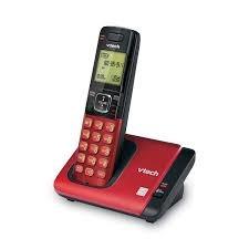telefono inalambrico vtech dect 6.0 csr6719-16 color rojo