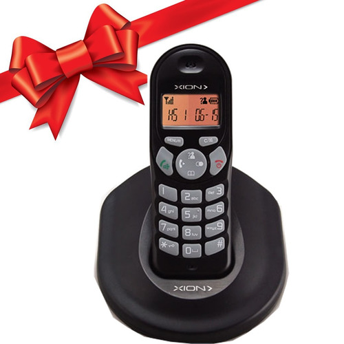 telefono inalambrico xion con pantalla digital regalo !