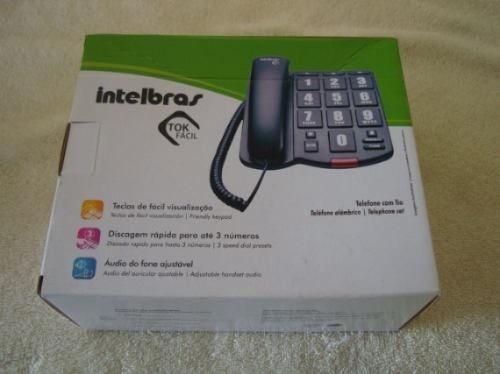 telefono intelbras tok fácil teclas grandes