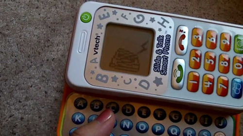 telefono inteligente vtech slide and talk importado