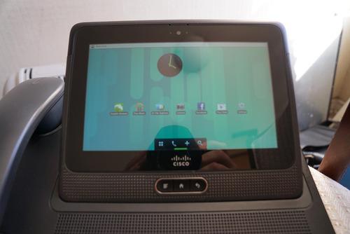 teléfono ip cisco cius (tablet + teléfono base)