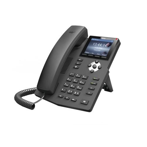 teléfono ip empresarial fanvil x3sp, 2 lineas sip poe