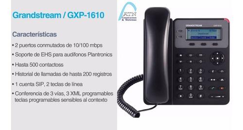telefono ip grandstream gxp-1610, centrales ip asterisk