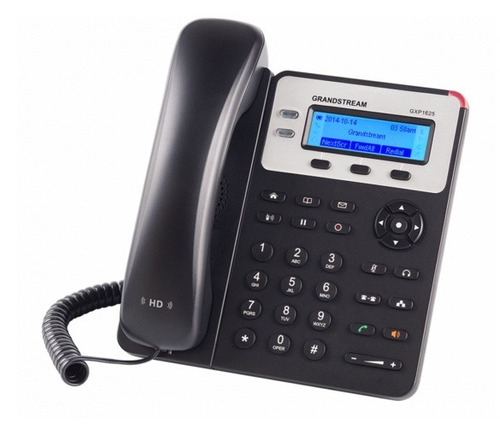 teléfono ip grandstream gxp-1625 poe 2 cuenta sip
