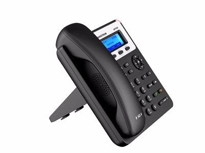 teléfono ip grandstream gxp1610 sip voip con adaptador 2 lan