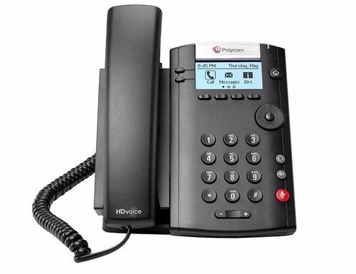 telefono ip polycom vvx 201, 2 lineas