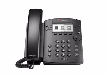 telefono ip polycom vvx300, 6 lineas