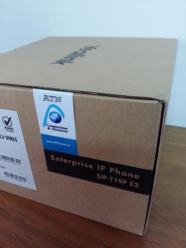 teléfono ip sip yealink t19p e2, poe, centrales ip asterisk