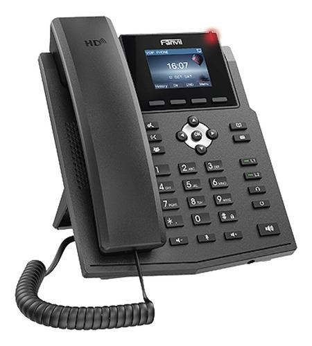 telefono ip x3sp lcd color  c/ 2 lineas c/eliminador  fanvil