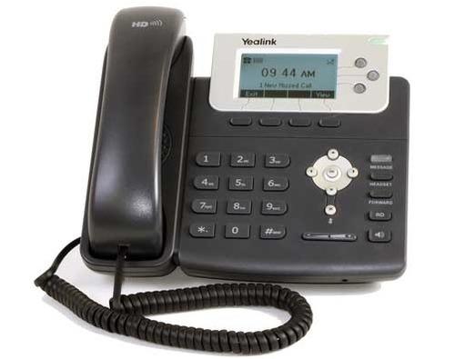 teléfono ip yealink sip-t22 con 6 meses de garantía .iia.