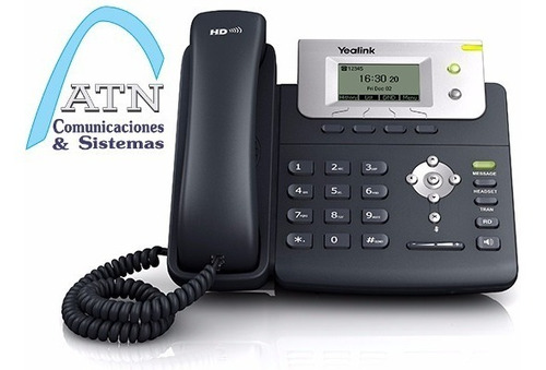 telefono ip yealink t21p e2, poe, centrales ip asterisk