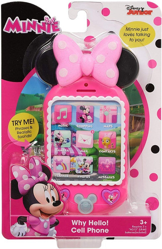 telefono juguete minnie mouse happy helpers oficial